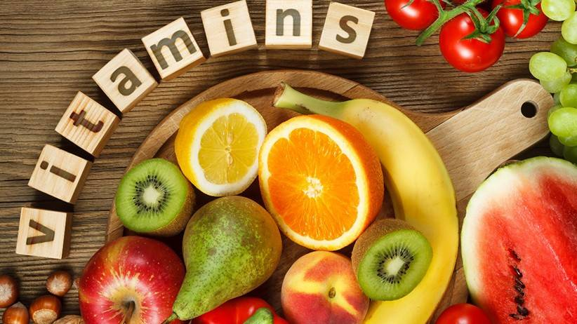 مقدار مورد نیاز روزانه ویتامین ها و مواد معدنی