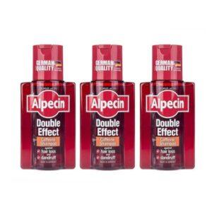 شامپو ضد شوره آلپسین مدل Double Effect Caffeine