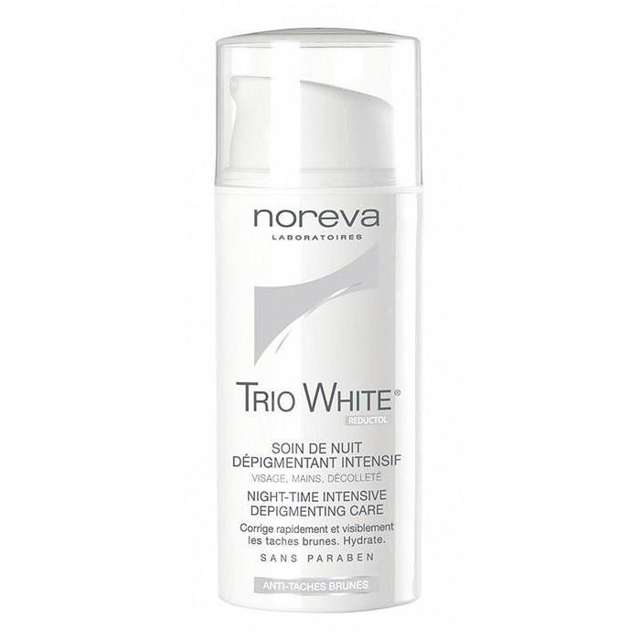 کرم ضد لک نوروا مدل Trio White Night حجم 30 میلی لیتر